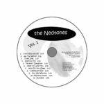 disk design for Nedtones Vol. 1 crammed with information in case it gets separated from the cover