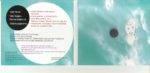 scanned inside of CD packaging showing slightly darkened color from computer design