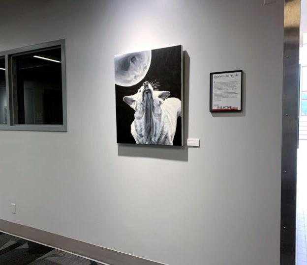 painting aureole installed at Rose-Hulman
